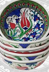 "Turkey 3"" Hand Painted Bowl"