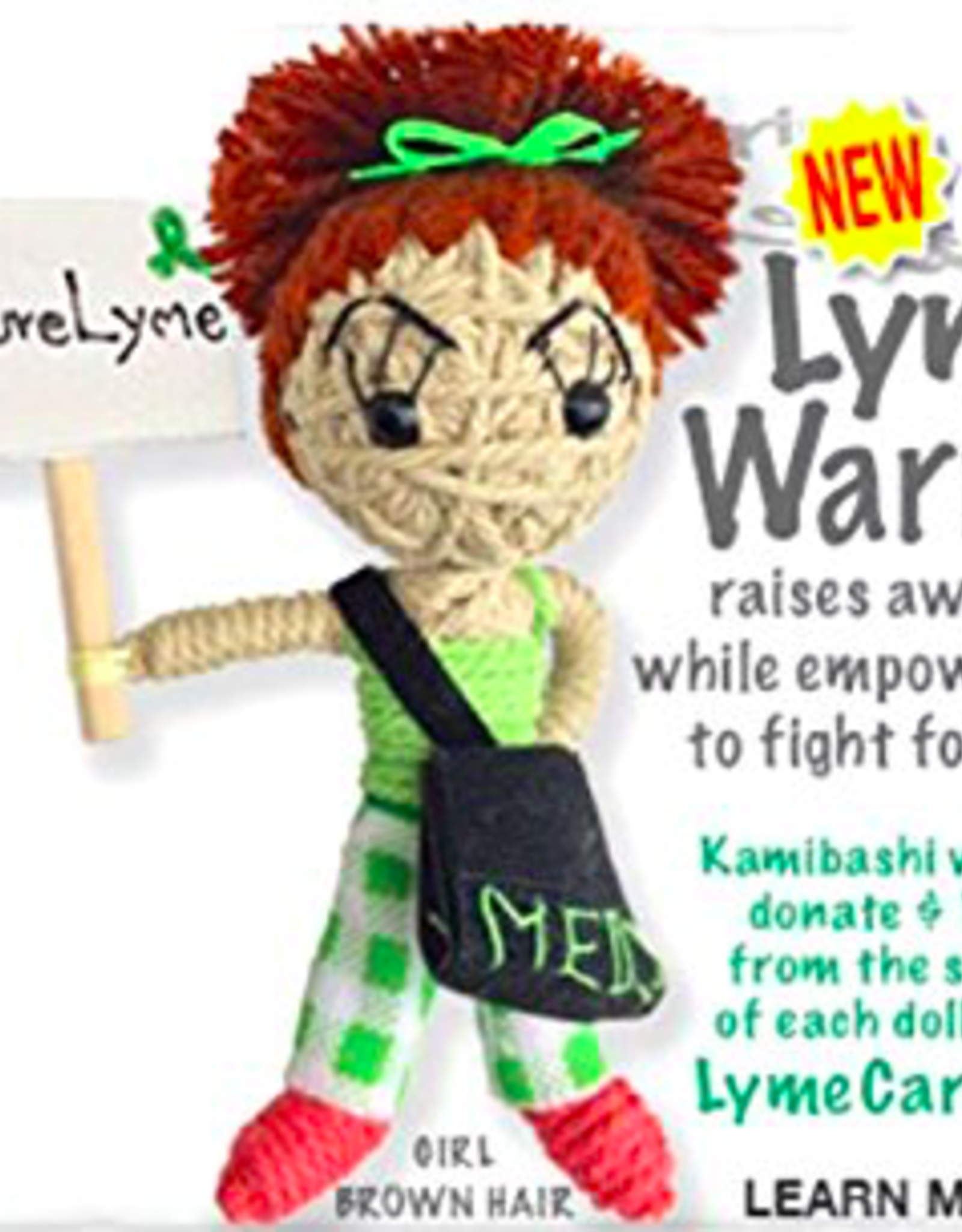 Stringdoll Lyme Warrior Girl