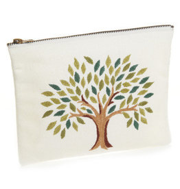 India, Tree of Life Zipper Pouch