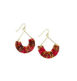 India, Mayra Twisted Earrings