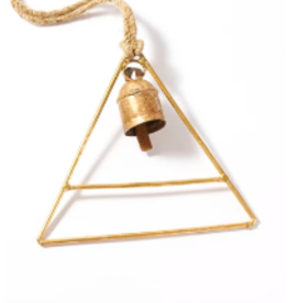 India, Air Element Bell Chime, Triangle