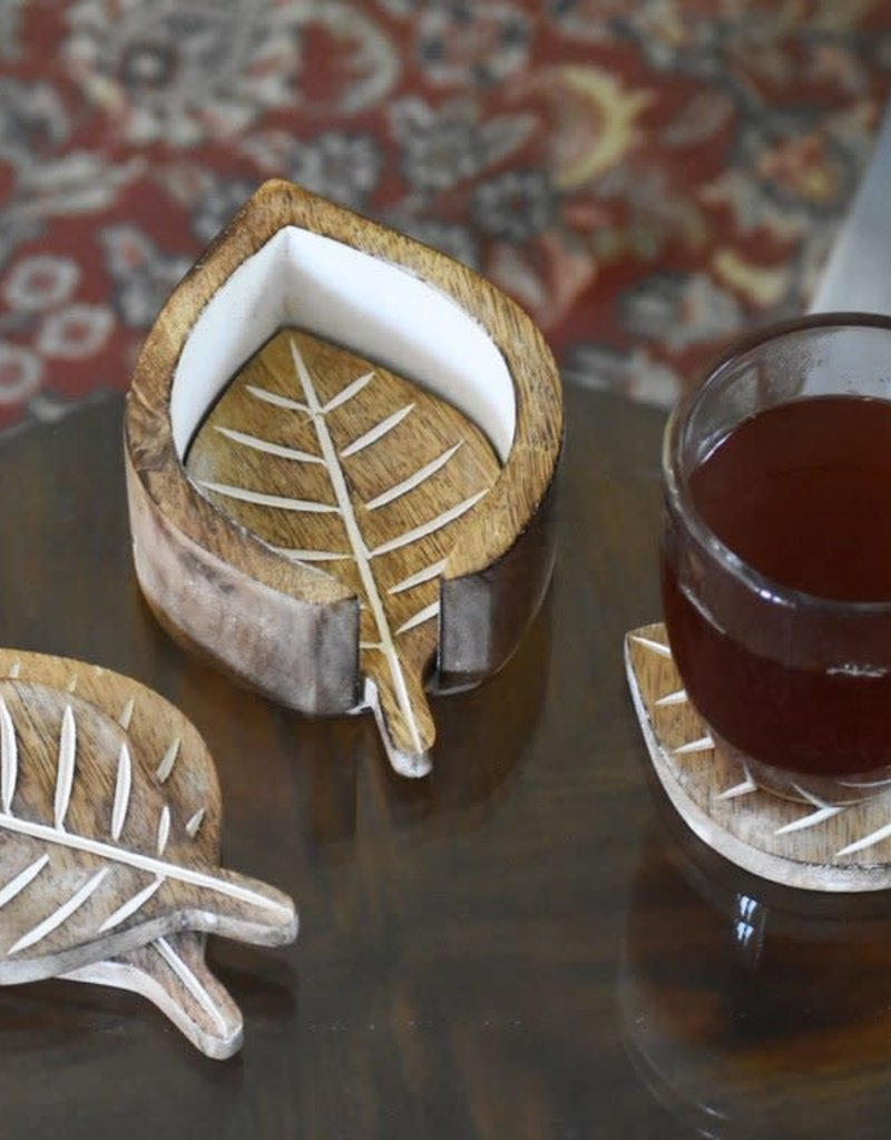 India, Leaf Coasters