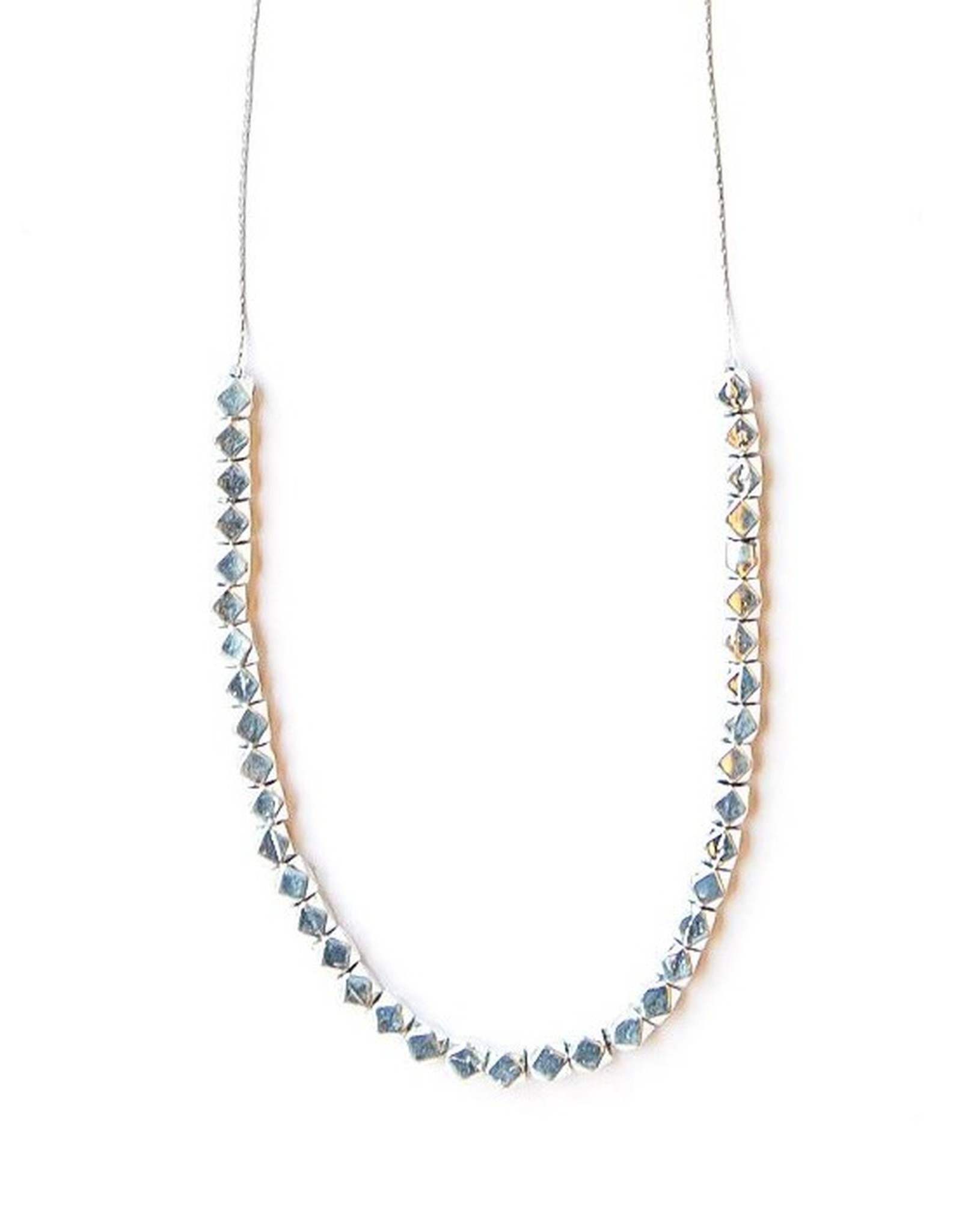 Silver Glow Necklace, India