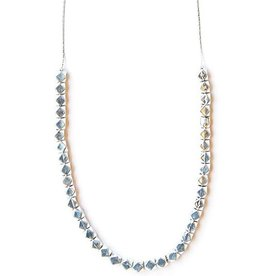 India, Silver Glow Necklace