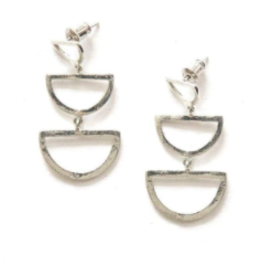 india, Reverberation Stud Earrings