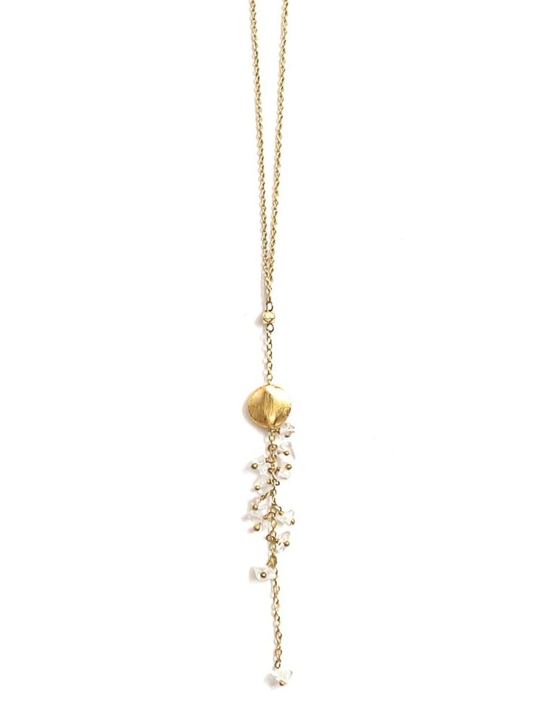 India, Dangling Stone Necklace