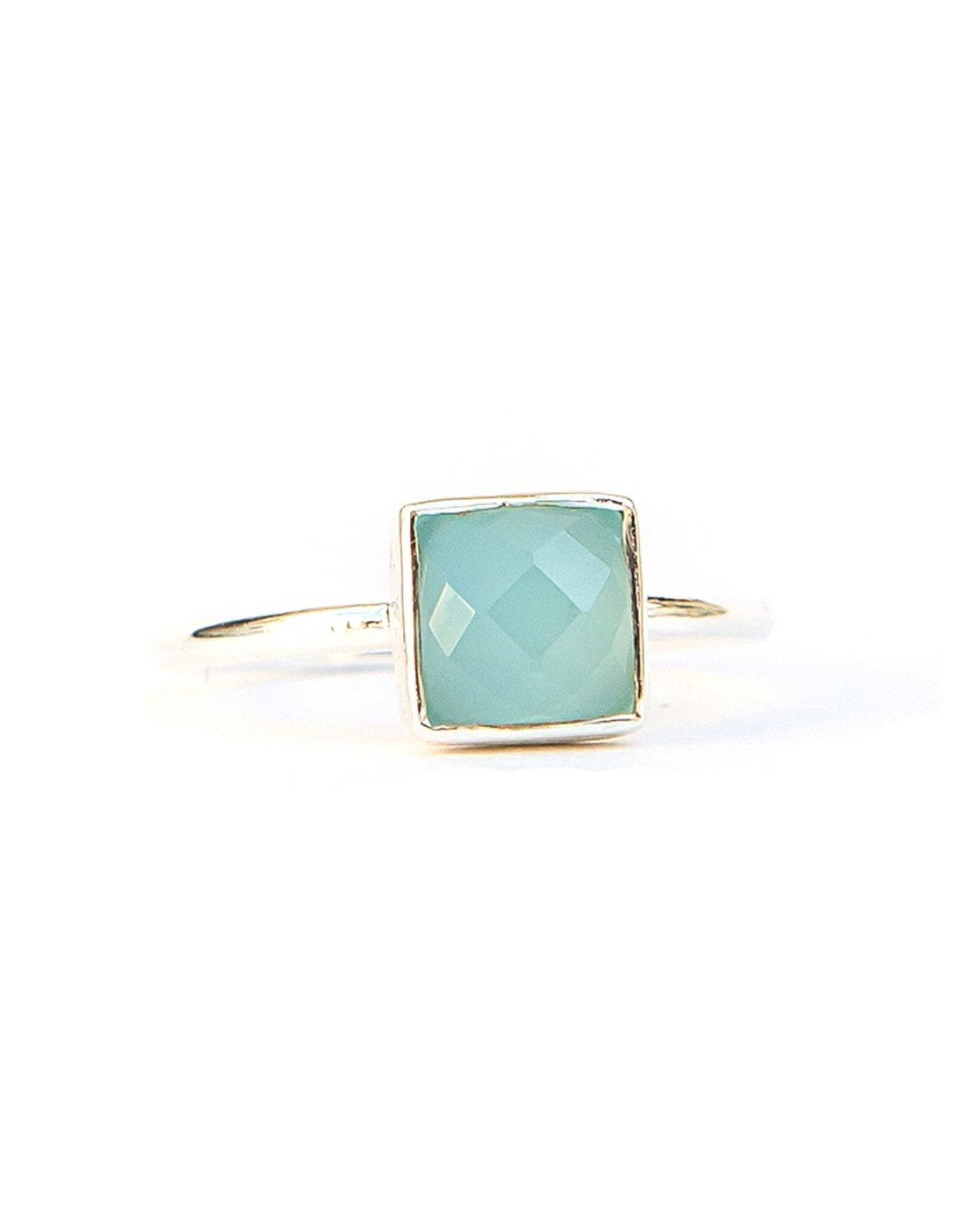 Sultry Sea Sterling Ring, India