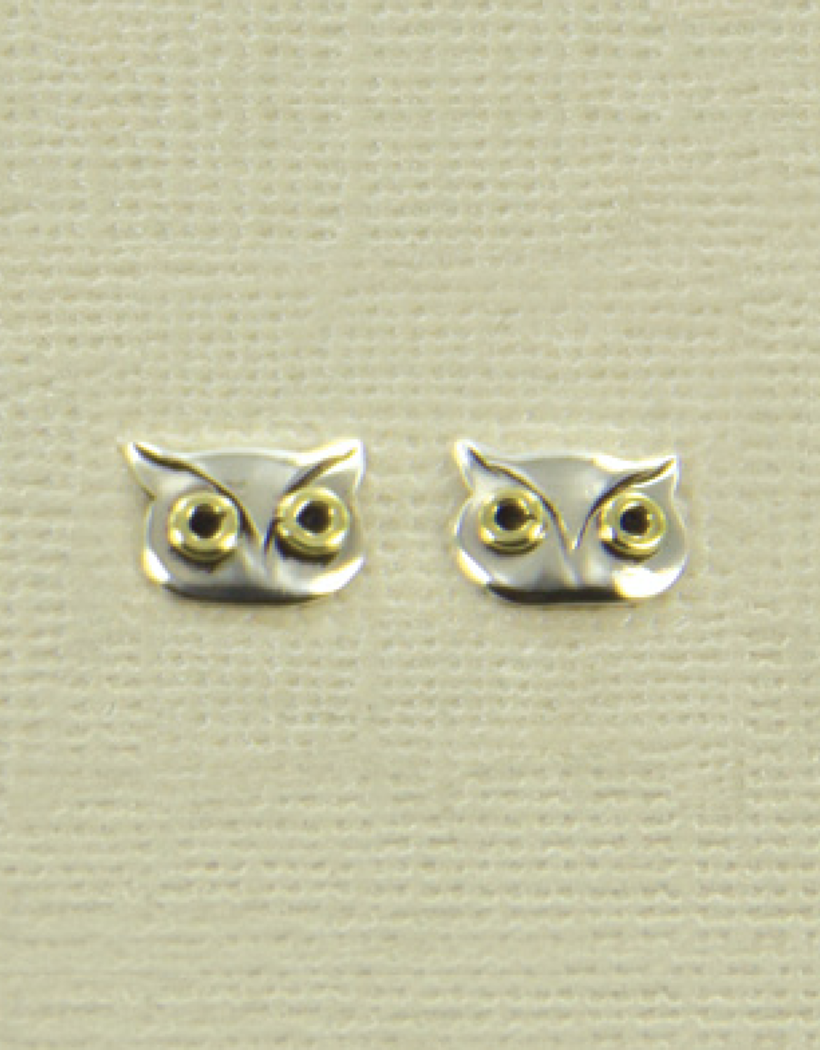 Sterling Silver Owl Posts 16