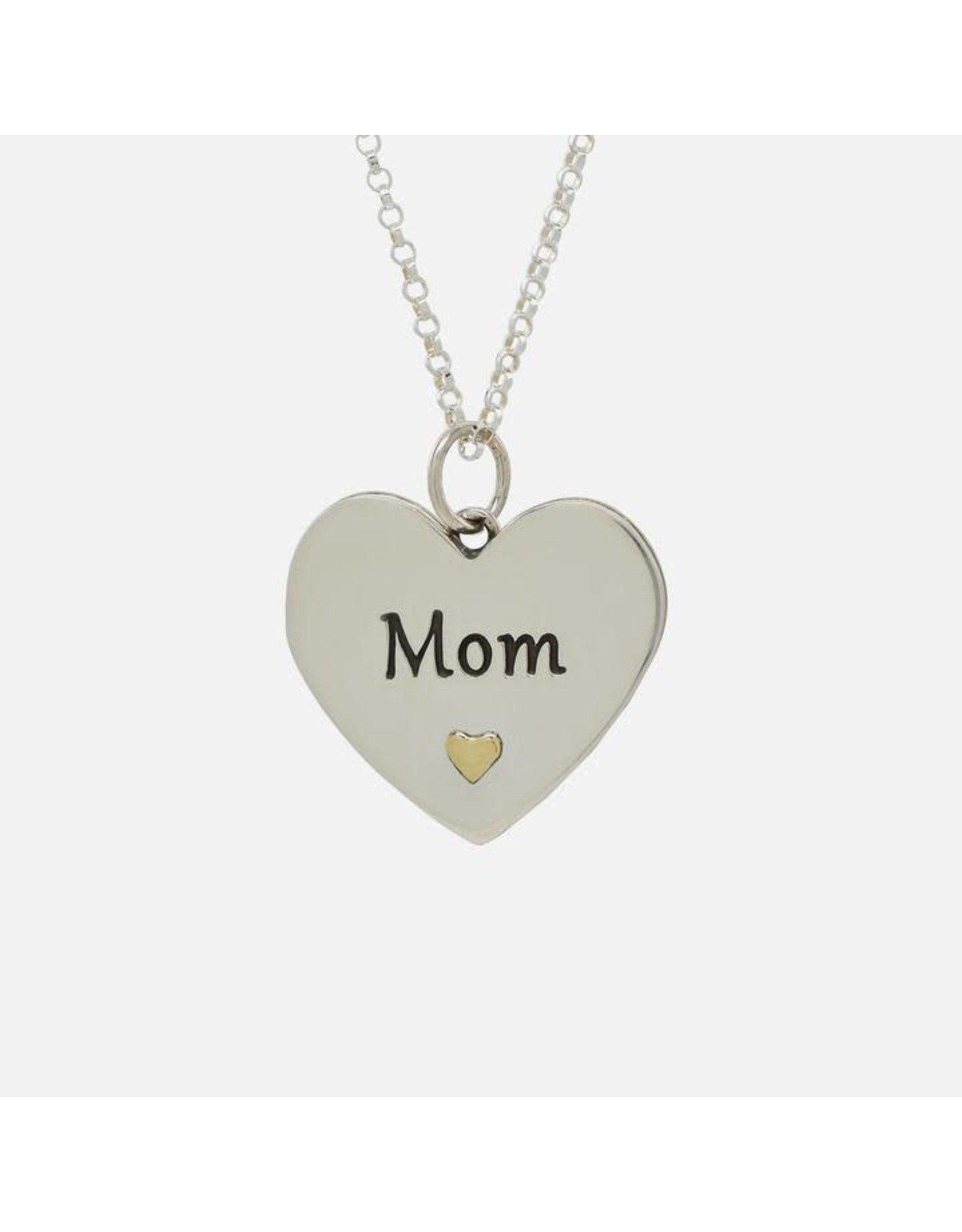 Mom, Everything I Am Heart Necklace