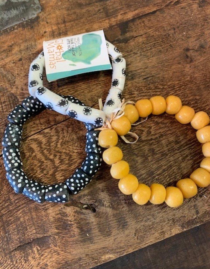Ghana, Modern Time Recycled Glass Bracelets