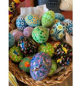 Kashmiri Eggs, Paper Mache, India
