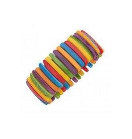 Ecuador, Thin Sliced Tagua Jungle Bracelet