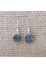 Satya True Script Earrings
