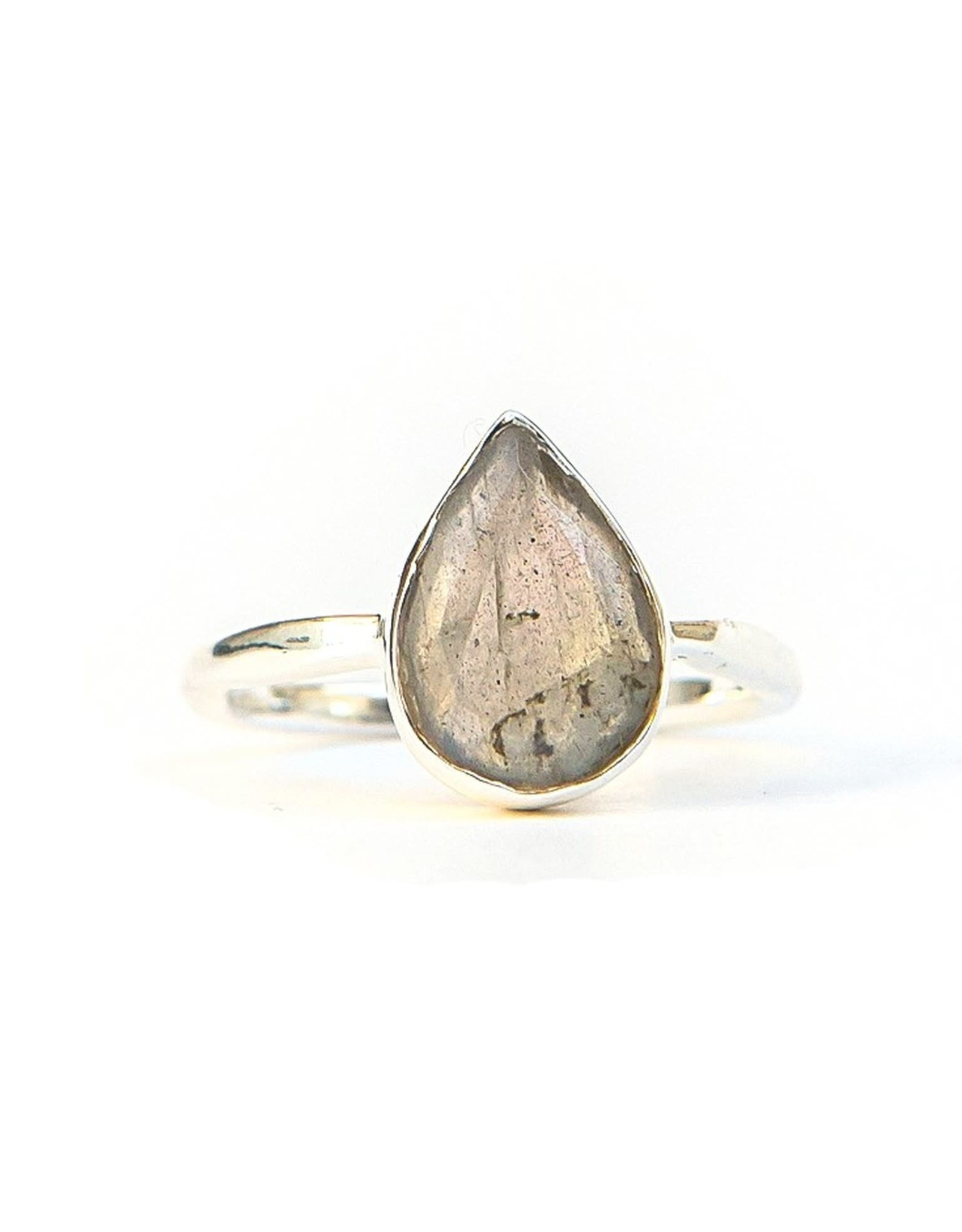In Love and Labradorite Sterling Ring