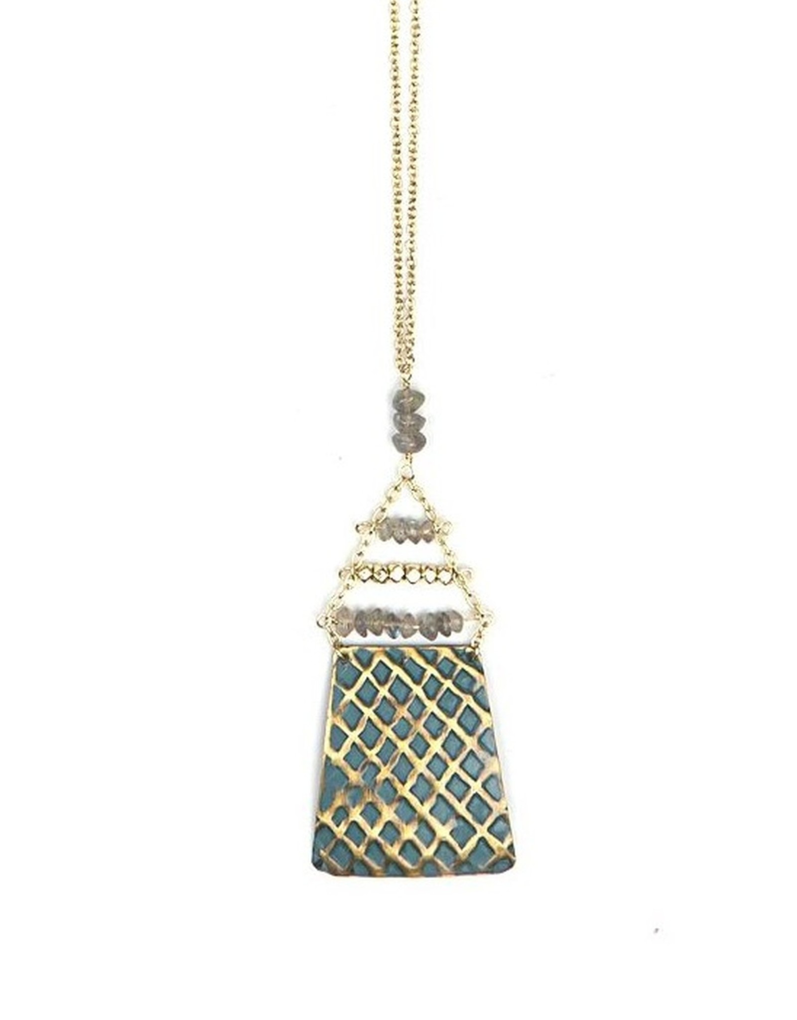 India, Shield Necklace