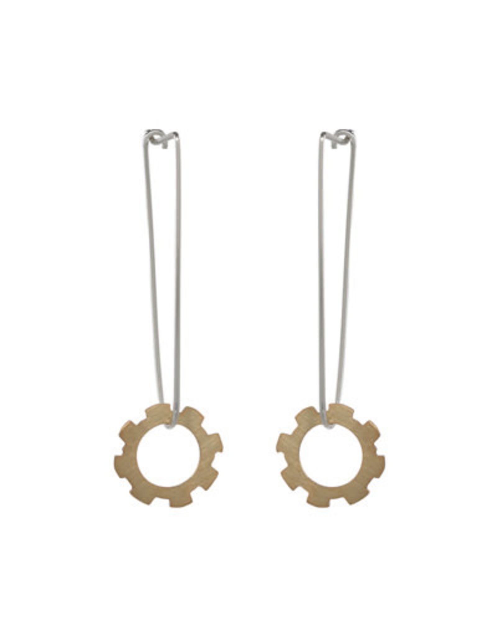Activating Gold Dipped Earring Wire