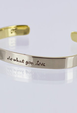 Inspirational (Stackable) Cuffs  Choice of Quotes