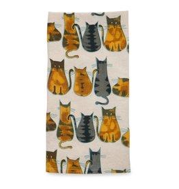 Cats  Tea Towel, India