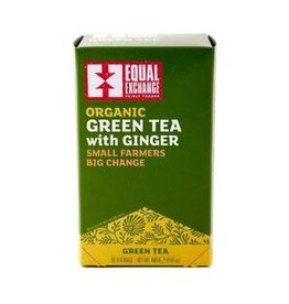 Green tea with ginger