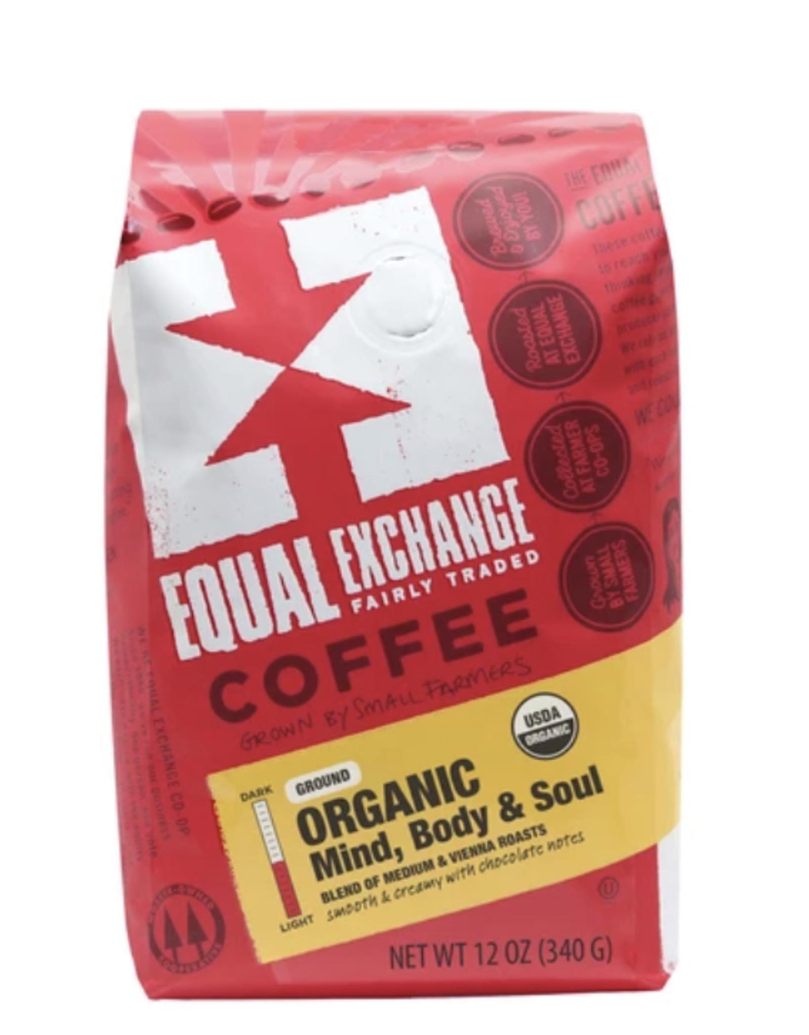 Coffee, Mind Body Soul Organic, 12 oz, Whole Bean