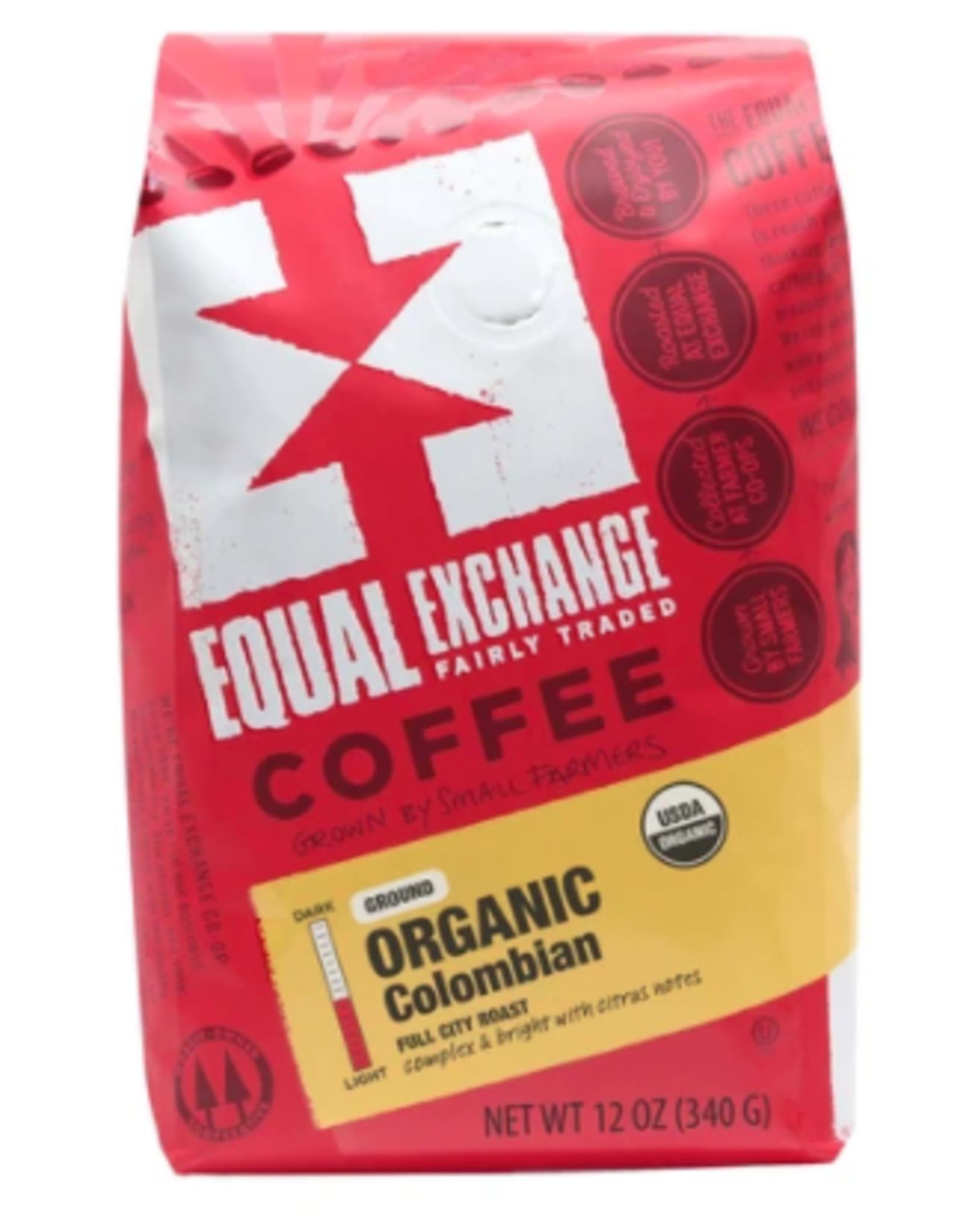 Organic Colombian Coffee, 12 oz Whole Bean