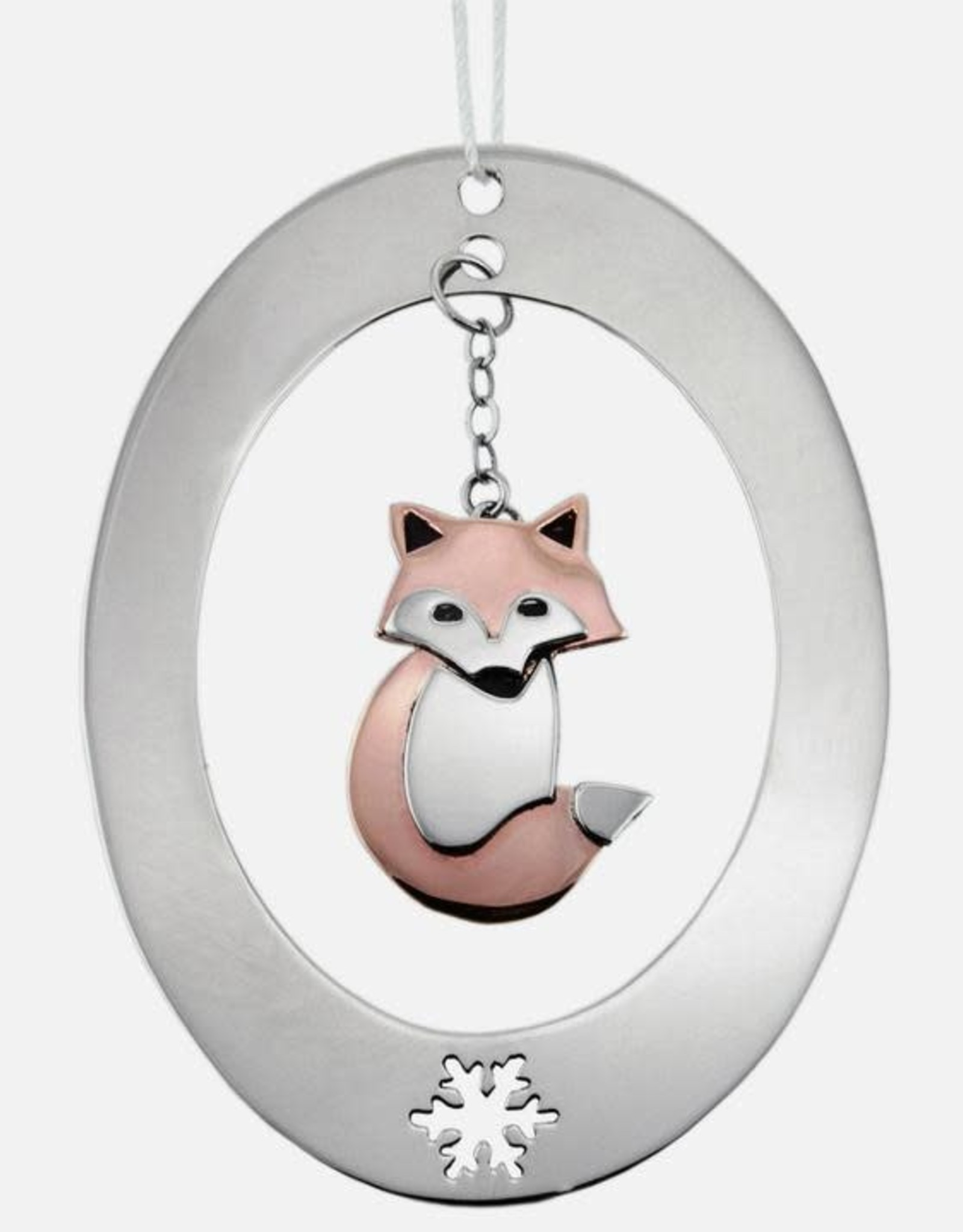 Fanciful Fox Ornament