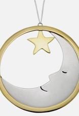 Round Brass Ornament