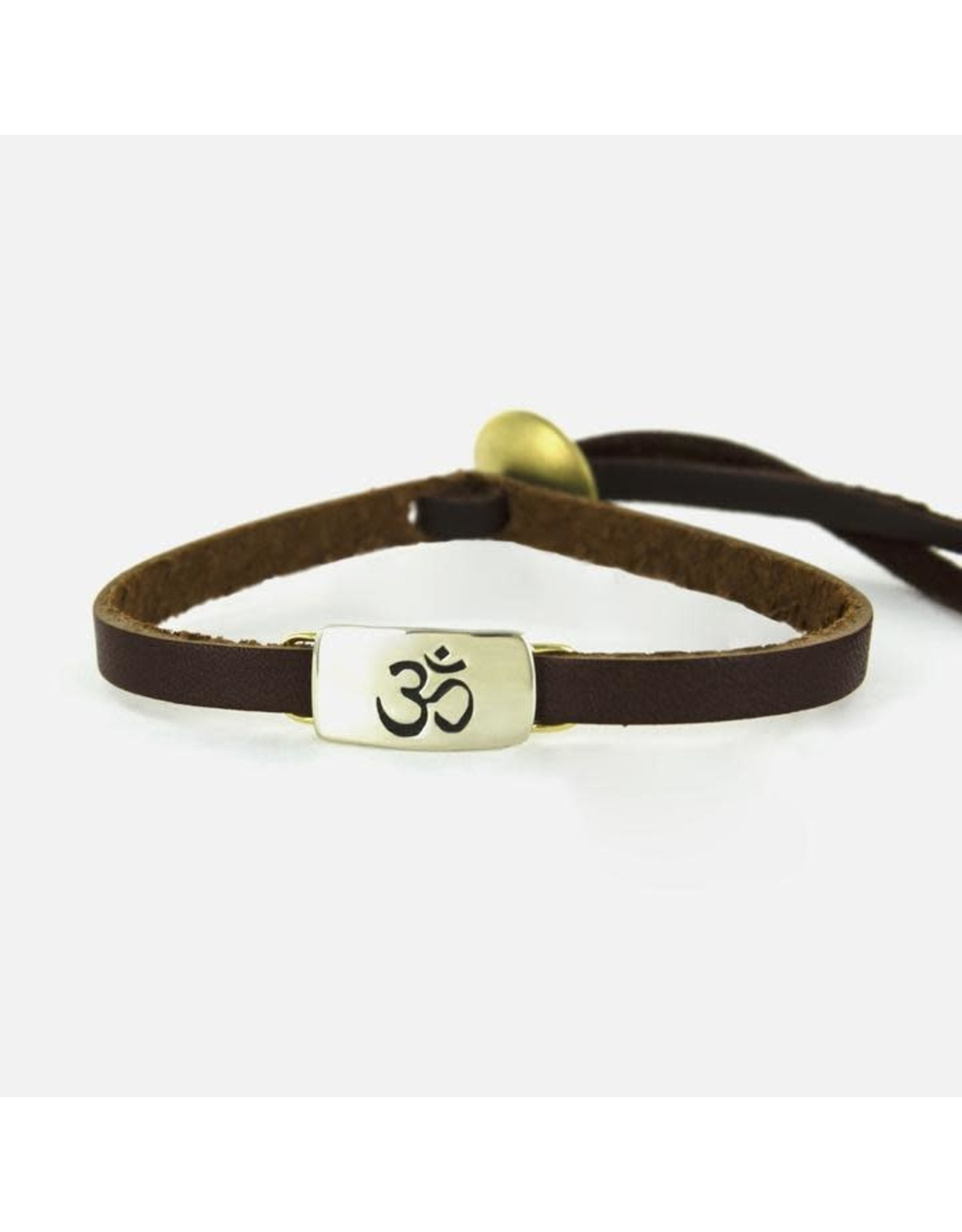 Om Symbol on Sienna Bracelet