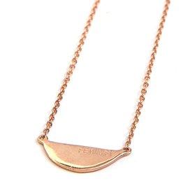 Feminist Rose Gold  Necklace