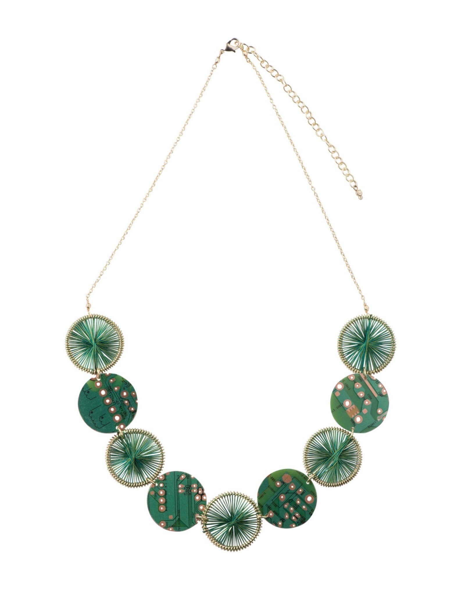 Circuit Board, Wire Connection Necklace, India