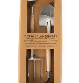 Salad Server Fork and Shovel
