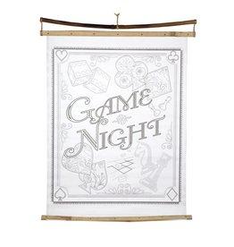 feb19 Bangladesh, Game Night Poster Art