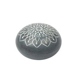 India, Stone Incense & Candleholder