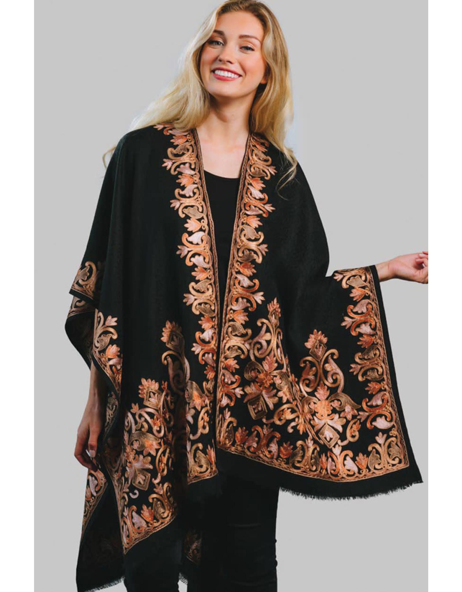 Kishori Embroidered Shawl