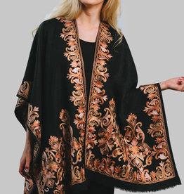 India, Kishori Embroidered Poncho