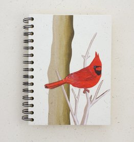 Large Notebook, Cardinal