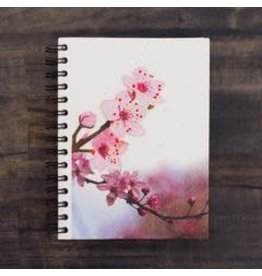 Large Notebook, Cherry Blossom, Sri Lanka