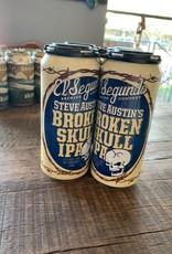 El Segundo, Broken Skull IPA, 16 oz, 4 pack