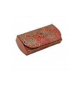 India, Leather Glasses Case Red