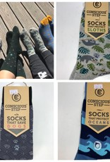 Conscious Step Sock of the Month; EVERY MONTH