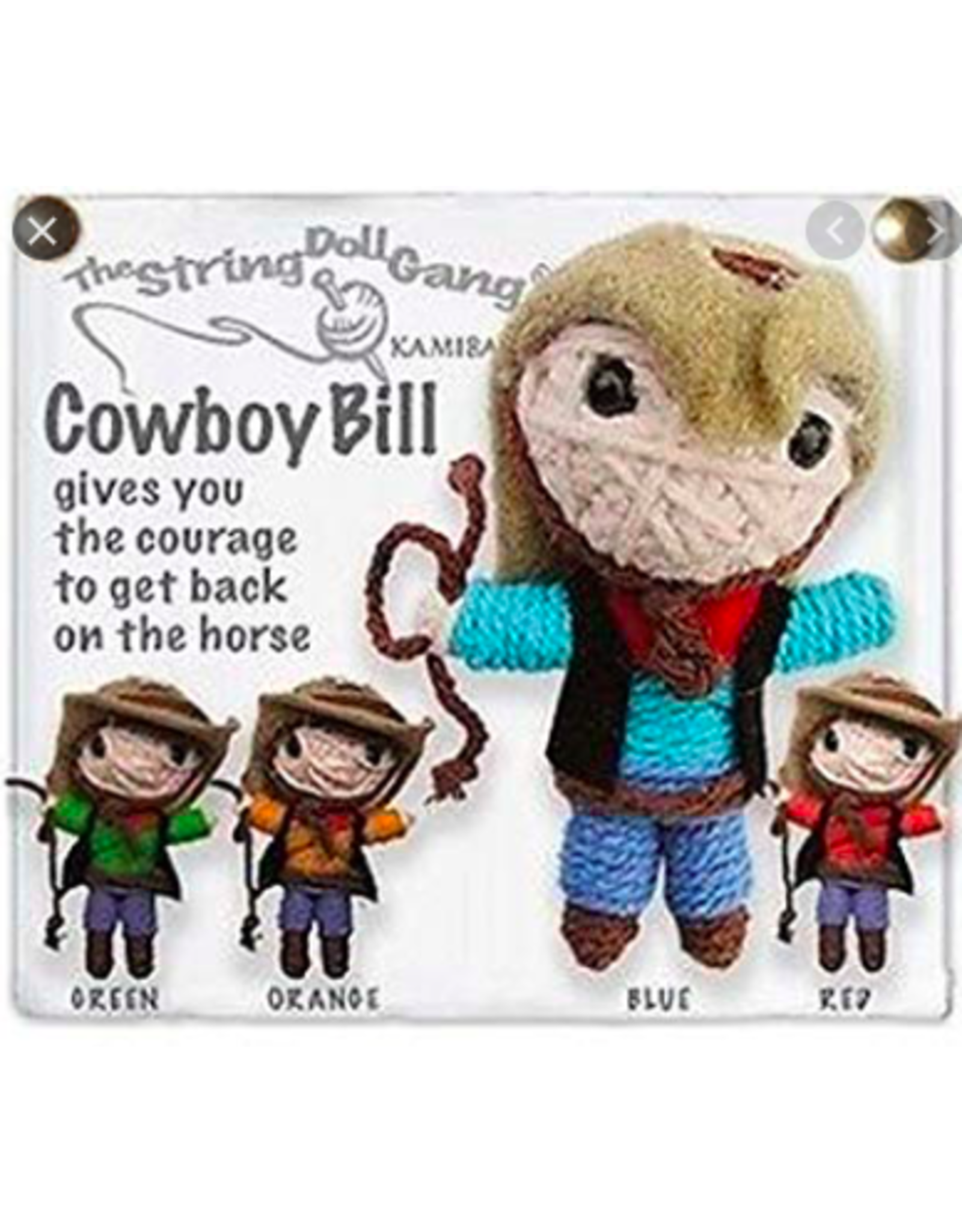 Stringdoll Cowboy Bill