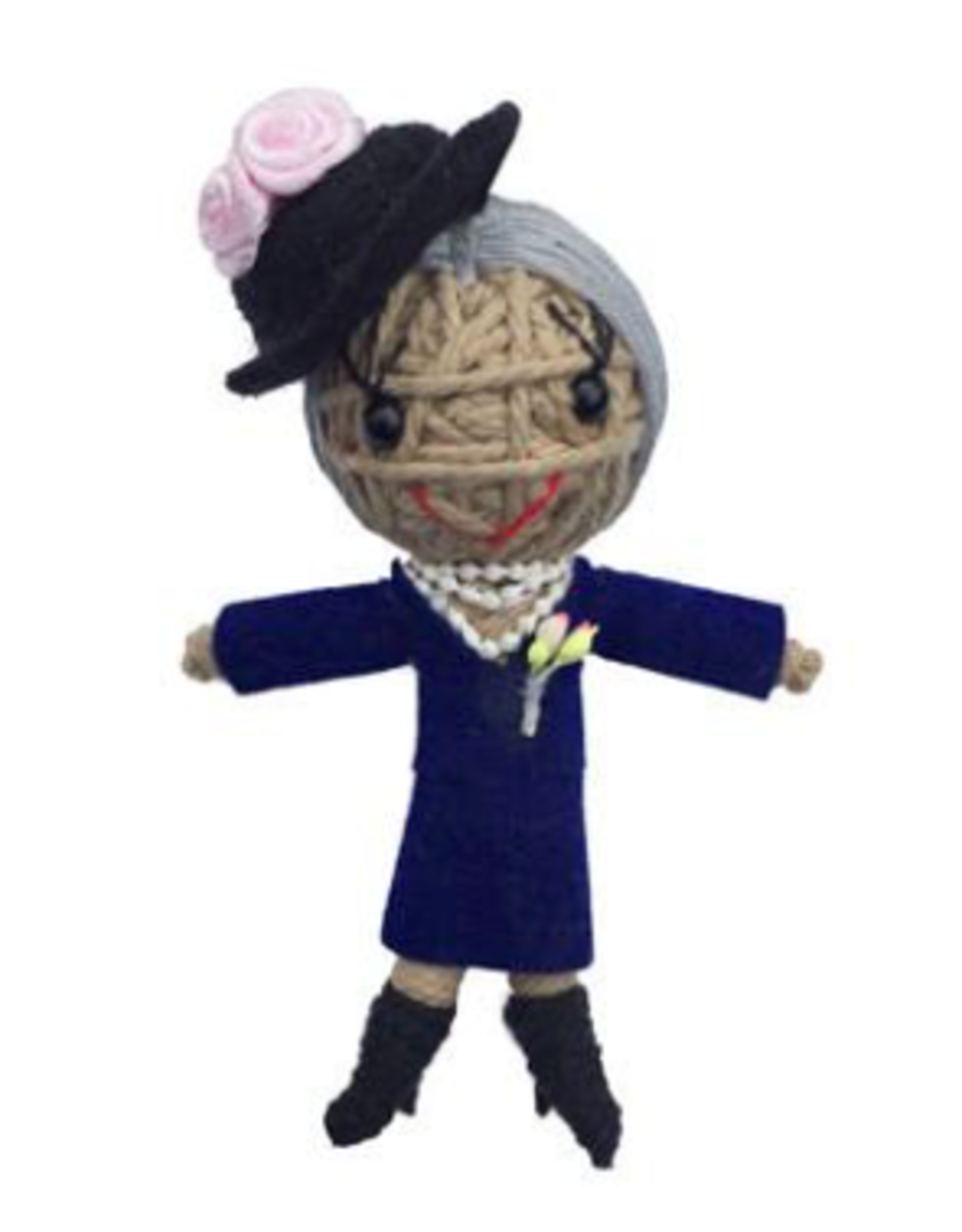 Stringdoll Eleanor Roosevelt