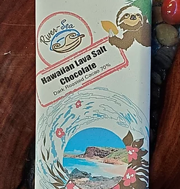 River-Sea Chocolate Hawaiian Lava Salt 70%