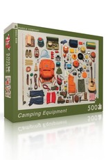 Camping Equipment, 500 piece puzzle