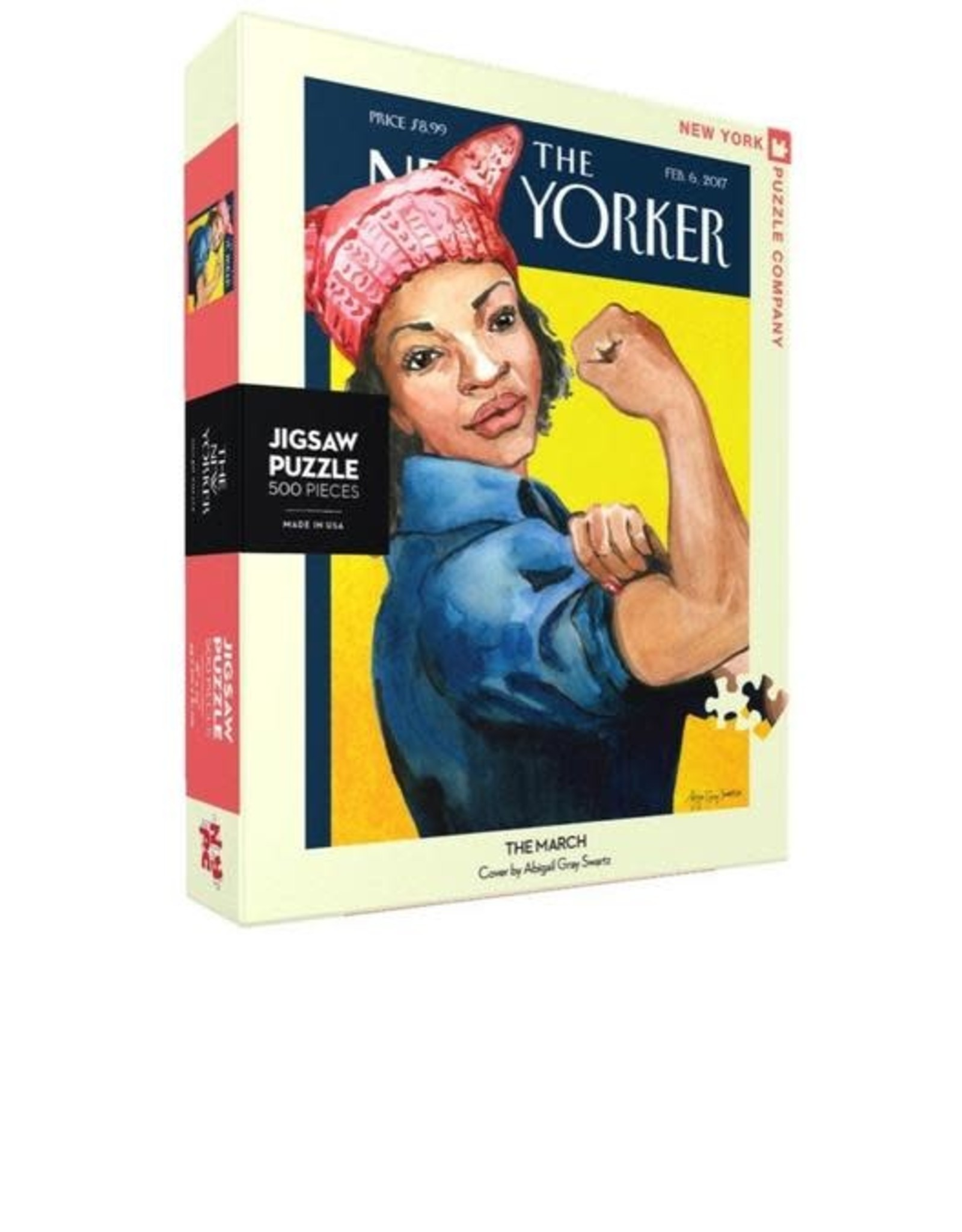 The March, Rosie Riveter, 500 piece jigsaw puzzle