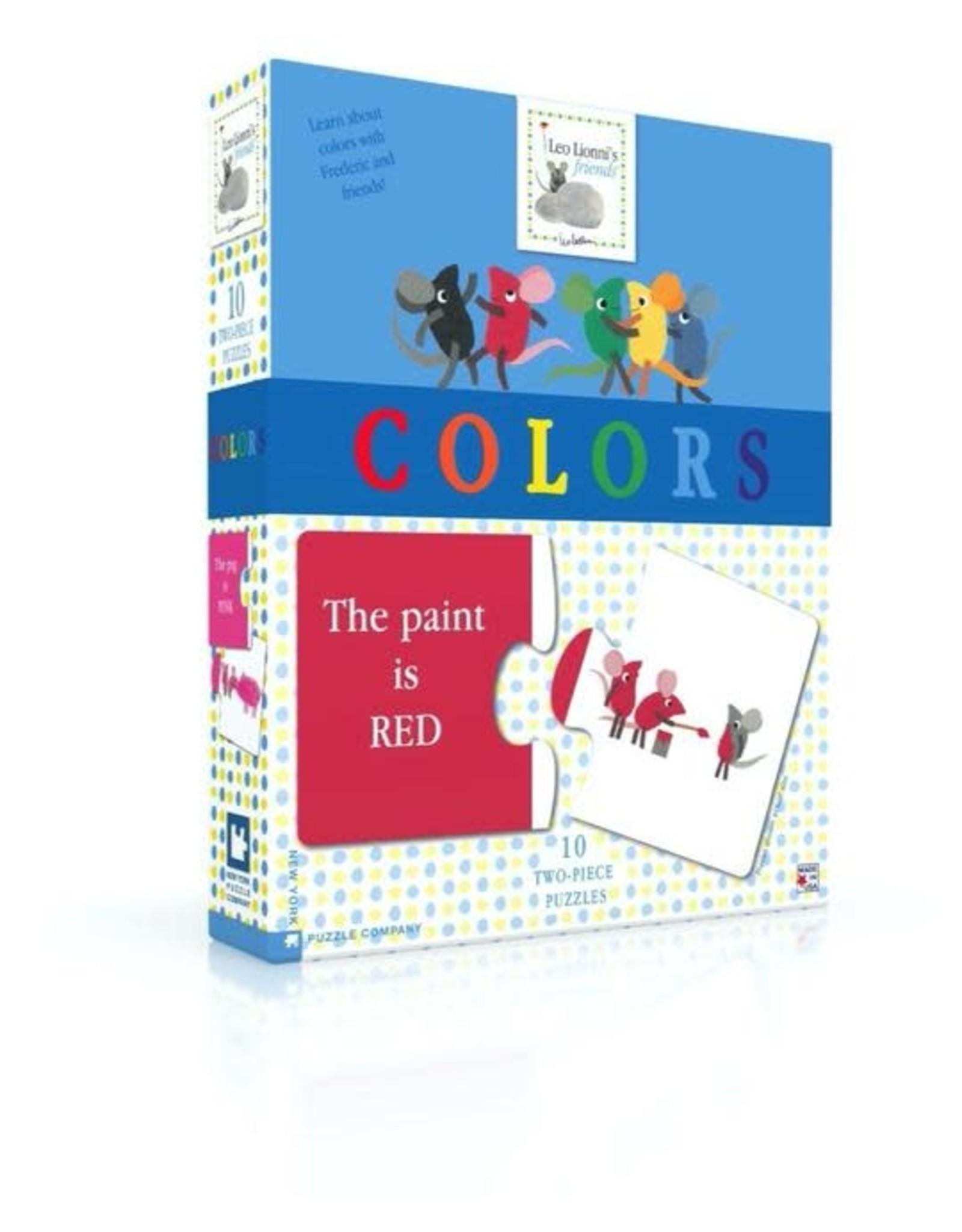 Leo Leonni  Colors Game