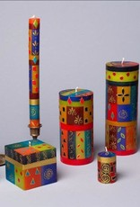 """South Africa, Taper Candles 9"""" African Mineral"""