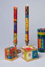 """South Africa, Taper Candles 4"""" Set of 4 Judaica"""
