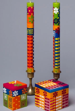 """South Africa, Pair Taper Candles 9"""" Summer"""