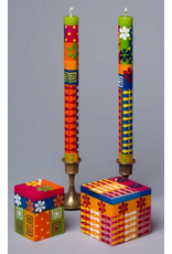"""Summer, Pair Taper Candles 9""""  South Africa,"""